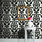 Wallpaper 'Bold Damask - Moda' from Baresque