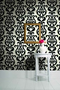 Wallpaper 'Bold Damask - Moda' from Baresque