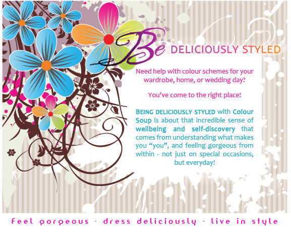 Be deliciously styled by Colour Soup!