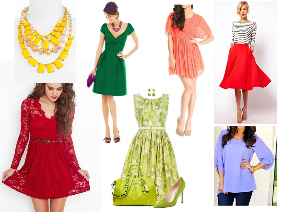 Spring 2013 colours to wear - zesty colours to energise your wardrobe