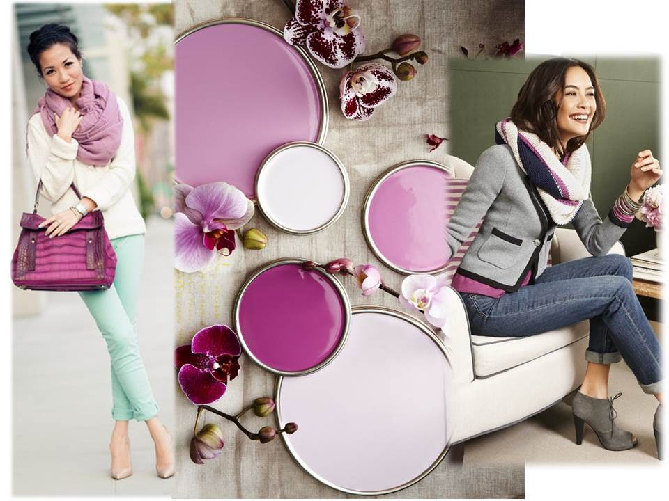 What to wear 2014 Autumn radiant orchid