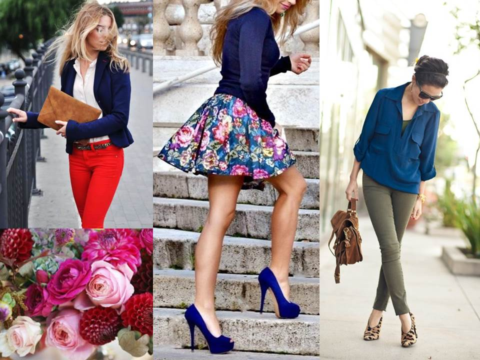 What to wear Autumn blues